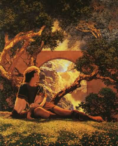 Maxfield Parrish The Knave