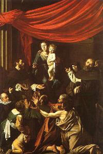 Michelangelo Merisi da Caravaggio The Madonna of the Rosary