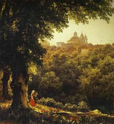 Mikhail Lebedev Ariccia near Rome