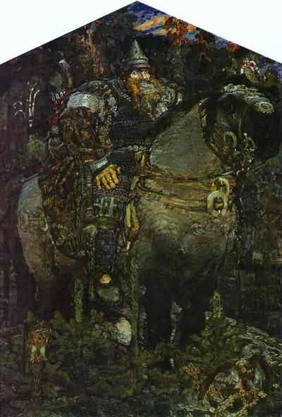 Mikhail Vrubel The Bogatyr Hero