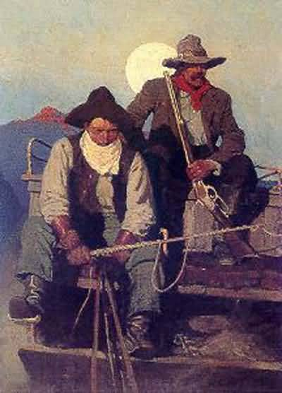 Newell Convers Wyeth The Pay Stage