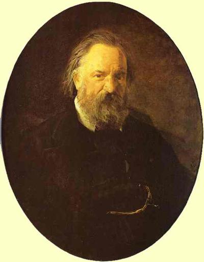 Nikolay Gay Portrait of the Author Alexander Herzen
