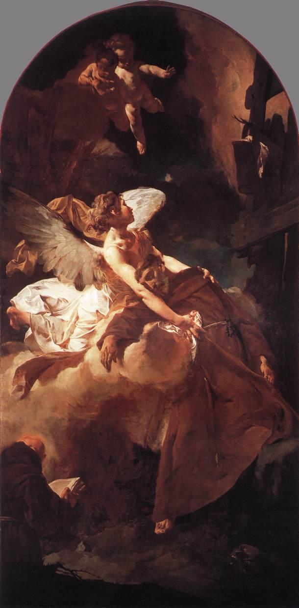 PIAZZETTA Giovanni Battista The Ecstasy of St Francis