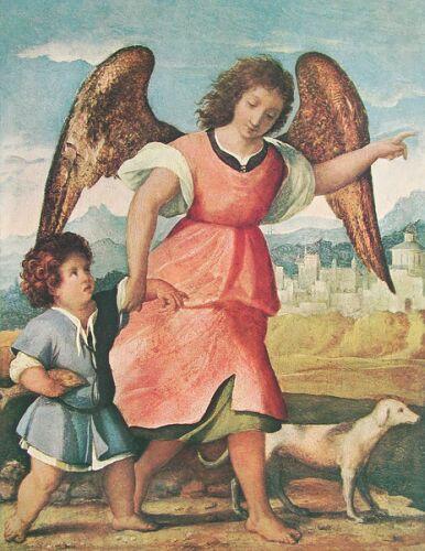 Palma Il Vecchio Tobias und der Engel