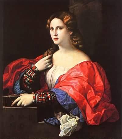 Palma Vecchio Portrait of a Woman