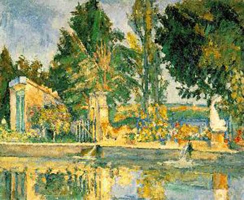 Paul Cezanne Jas De Buffan, The Pool