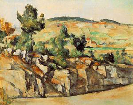 Paul Cezanne Mountains In Provence