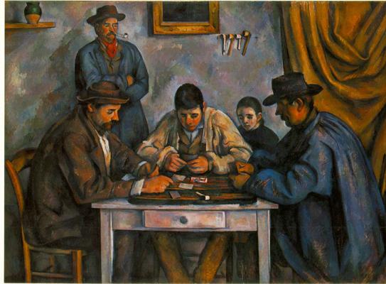 Paul Cezanne The Card Players (Les Joueurs De Cartes)