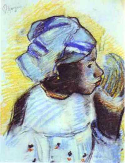 Paul Gauguin Head of a Negress