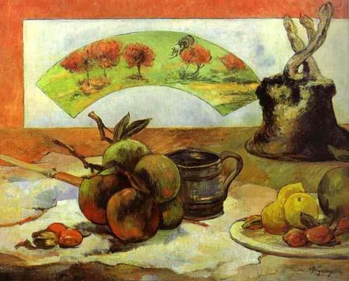 Paul Gauguin Still Life with Fan