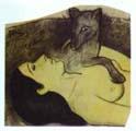 Paul Gauguin Study for La perte de Pucelafe The Loss of Virginity