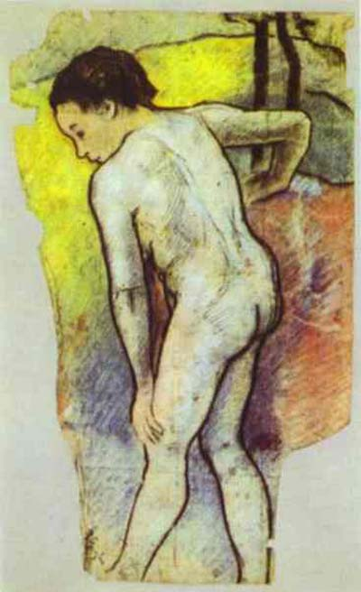 Paul Gauguin Study for the Bathers