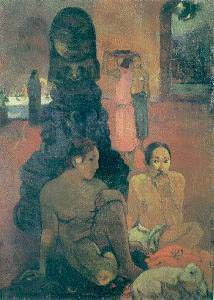 Paul Gauguin The Big Buddha