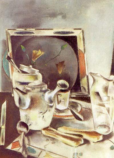 Preston Dickinson Still Life_ Tea Table