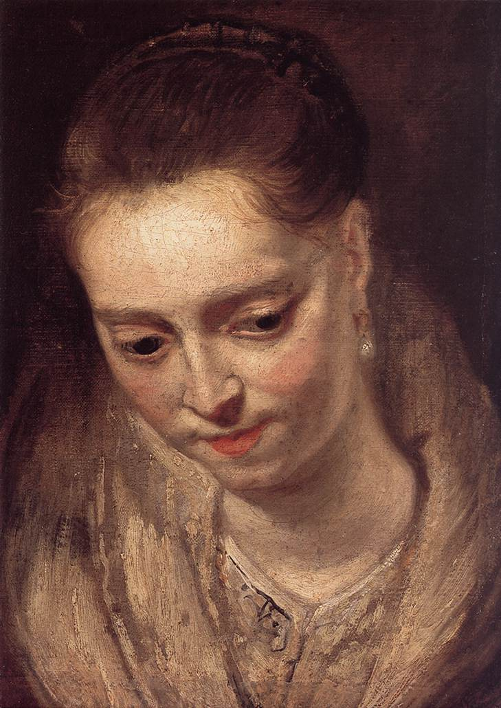 RUBENS Pieter Pauwel Portrait of a Woman