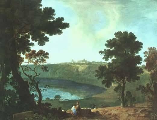 Richard Wilson Lake Albano & Castel Gandolfo