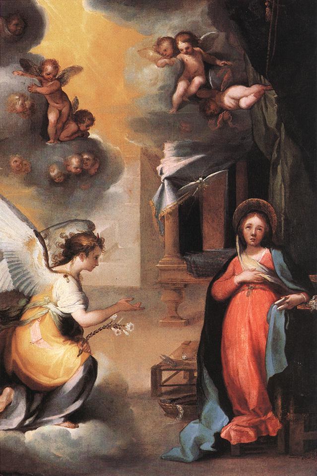 SALIMBENI Ventura The Annunciation