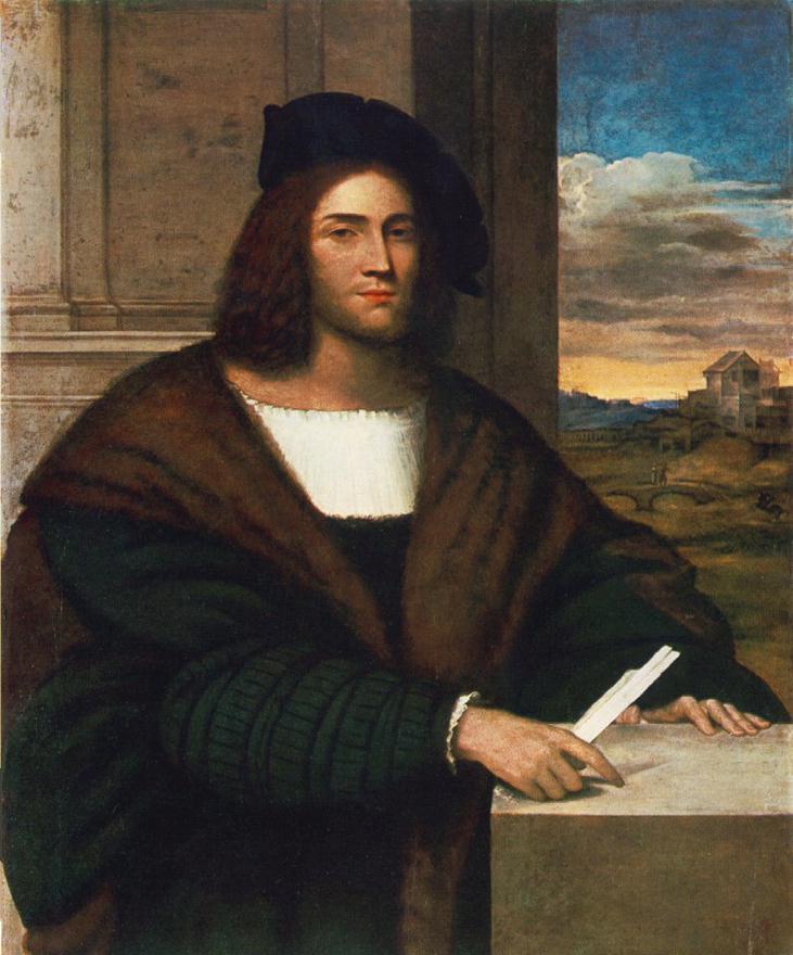 SEBASTIANO DEL PIOMBO Portrait of a Man