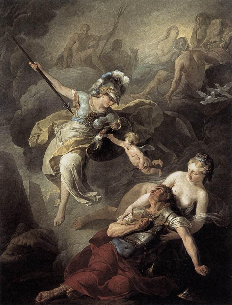 SUVEE Joseph Benoit The Combat of Mars and Minerva