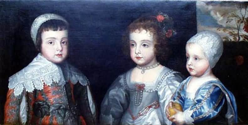 Sir Anthony van Dyck Children of Charles I