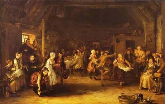 Sir David Wilkie The Penny Wedding
