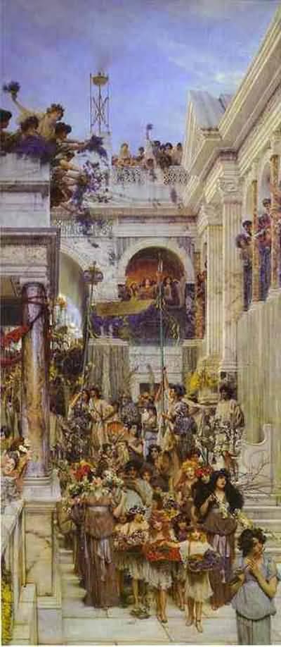 Sir Lawrence Alma Tadema Spring