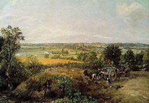Stour Valley And Dedham Church - John Constable