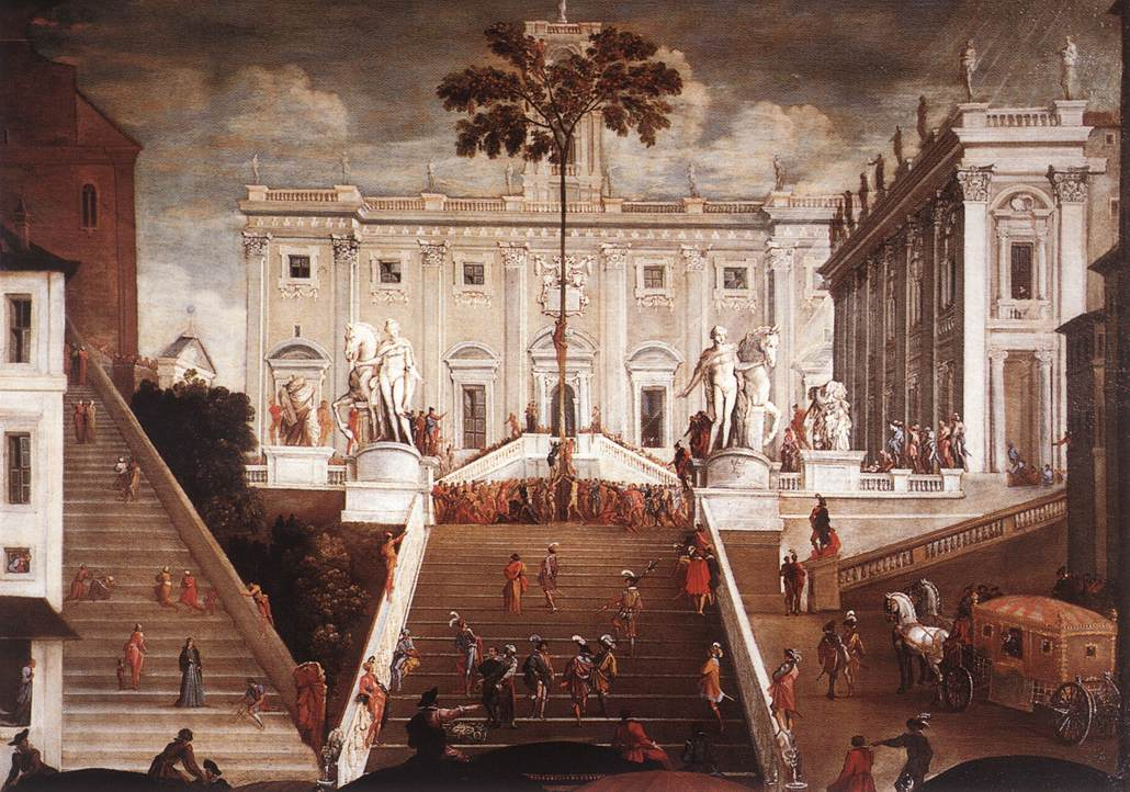 TASSI Agostino Competition on the Capitoline Hill