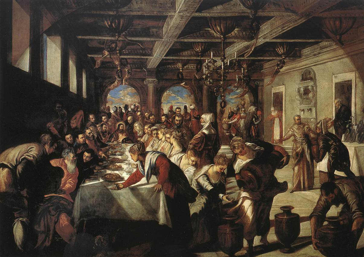 TINTORETTO Marriage at Cana