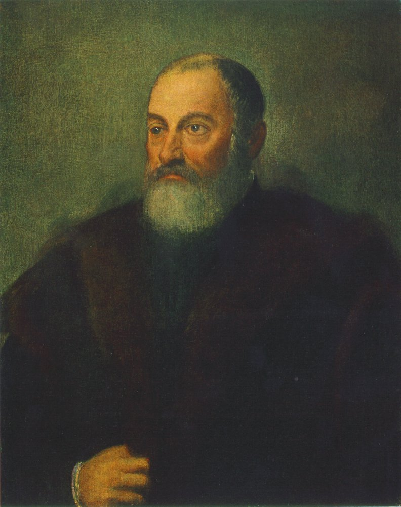 TINTORETTO Portrait of a Man