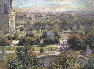 The Tuileries - Claude Monet