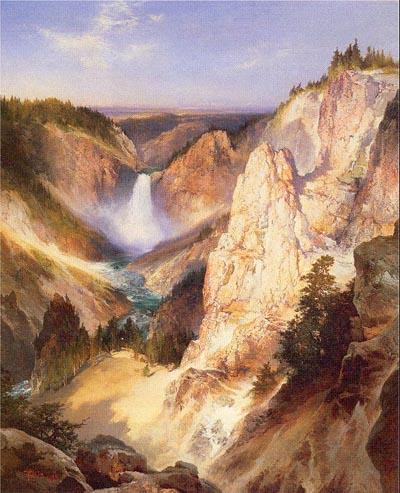 Thomas Moran Great Falls of Yellowstone