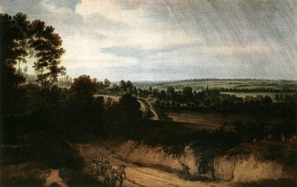 VADDER Lodewijk de Landscape before the Rain