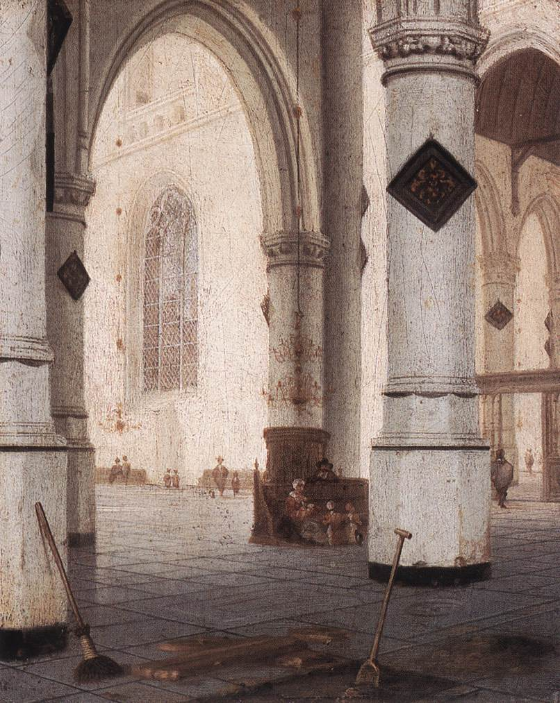 VLIET Hendrick van Church Interior