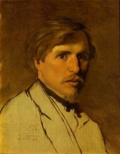 Vasily Perov Portrait of the Artist Illarion Prianishnikov