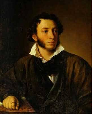 Vasily Tropinin Portrait of Alexander Pushkin