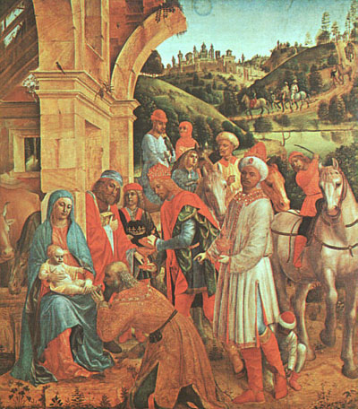 Vincenzo Foppa The Adoration of the Kings