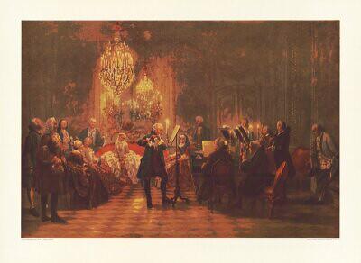 Von Menzel Adolph Das Floetenkonzert 2