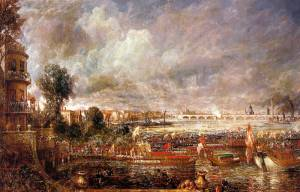 Whitehall Stairs on June 18, 1817 - John Constable