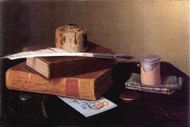 William Harnett The Banker s Table