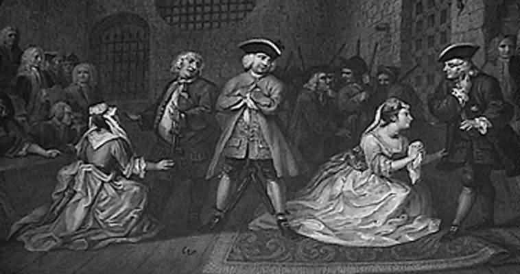 William Hogarth A Scene from the Beggar s Opera