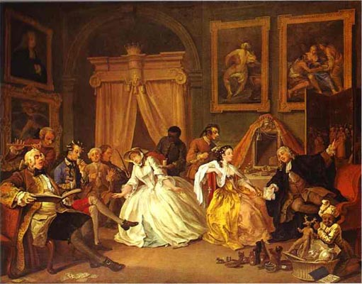 William Hogarth The Countess s Morning Levee