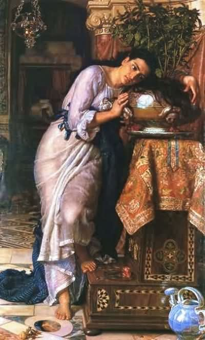 William Holman Hunt Isabella and the Pot of Basil