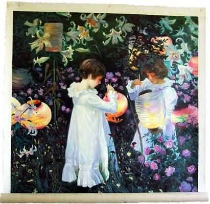 William Merrit Chase The Orangerie