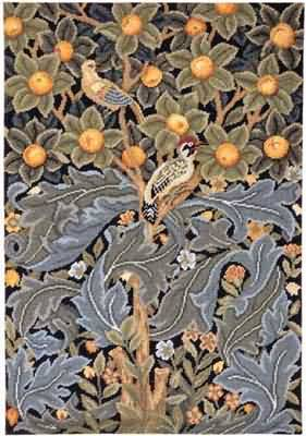 William Morris The Woodpecker