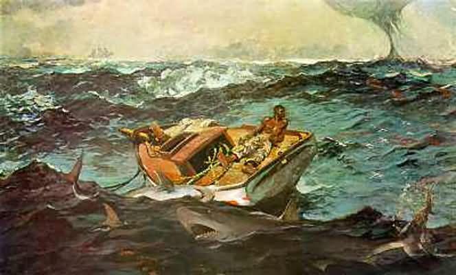 Winslow Homer The Gulf Stream
