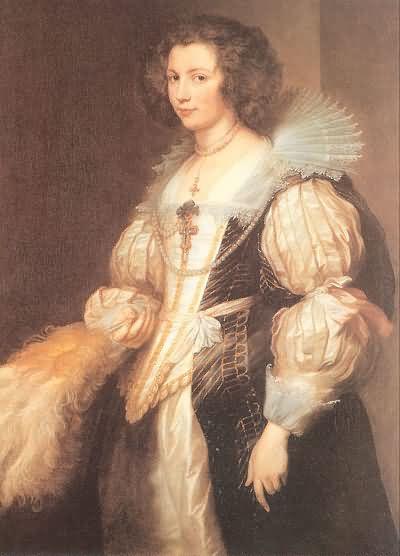 Sir Anthony van Dyck Portrait of Maria Lugia de Tassis