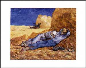 La Siesta - Vincent Van Gogh
