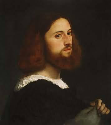 Titian Tiziano Vecellio Portrait of a Man