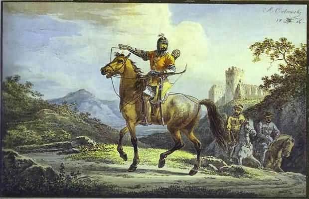 Alexander Orlowski Horsemen